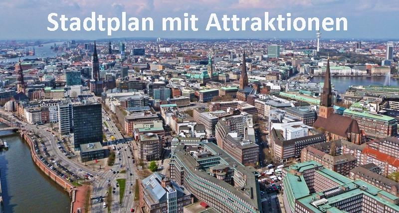 Hamburg Karte Sehenswurdigkeiten.Touristische Highlights Hamburg Sehenswurdigkeiten