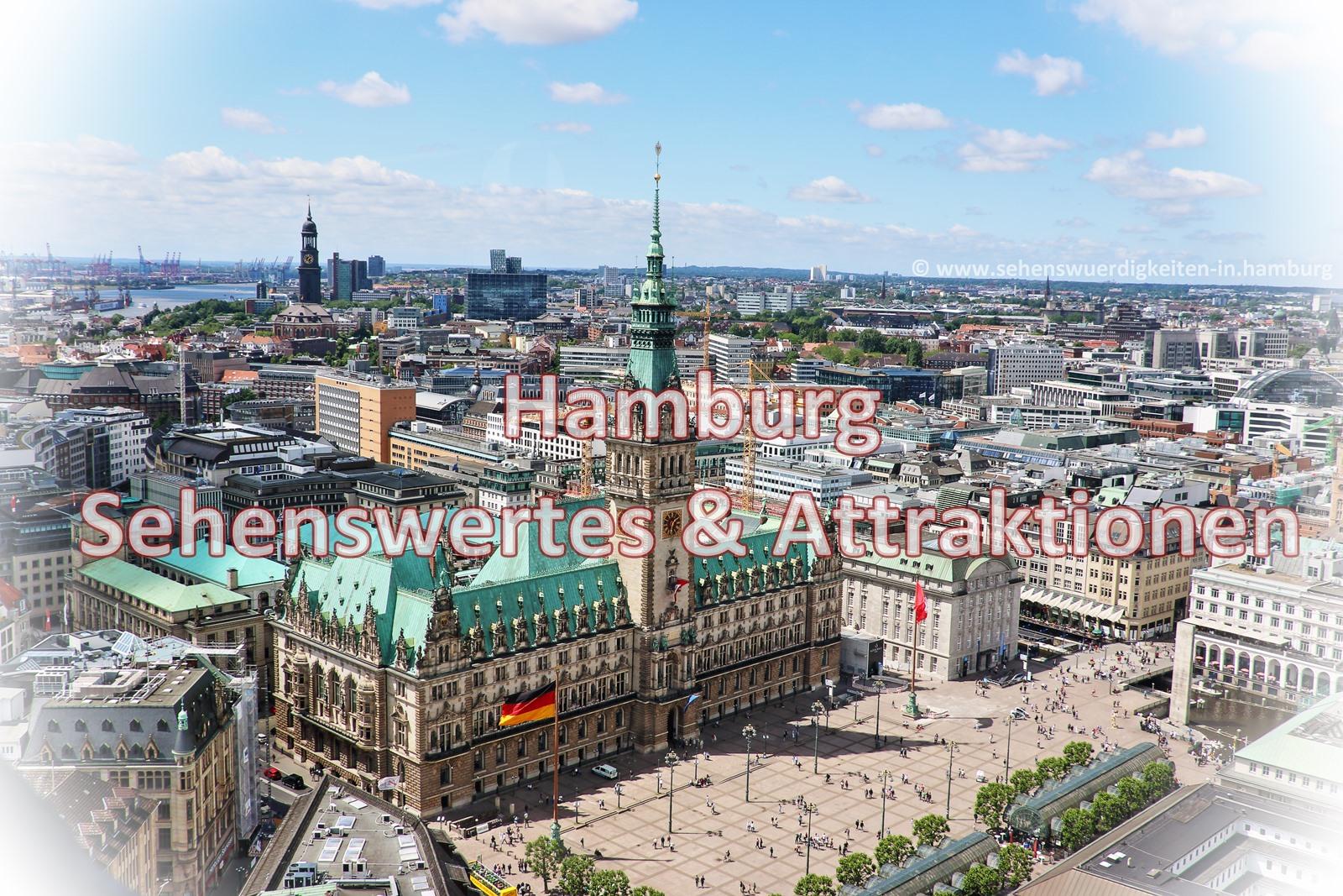 Hamburg Sehenswurdigkeiten Karte Sightseeing Stadtplan